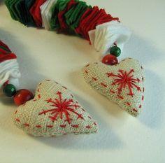 M s de 1000 im genes sobre corazones decorados en - Imagenes de corazones navidenos ...