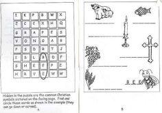 Little Orthodox Christian Workbook, ages 4-9