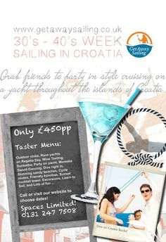 Have fun sailing around the islands of Croatia with us
