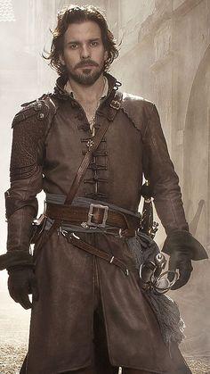 The Musketeers - New series II profiles via BBCOne: Aramis