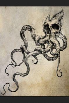 Image result for kraken tattoo                                                                                                                                                                                 Mehr