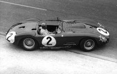 Maserati lors des 24 Heures du Mans en 1957
