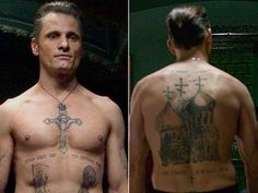 Viggo Mortensen, Eastern Promises | Tattoo U.! 22 Memorably Inked ...