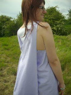 Womens/teens linen cross back apron dress by AriadnesCloset, $56.00