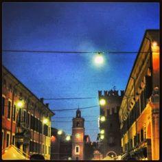 Ferrara. Centro storico.