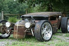 Wicked rat rod