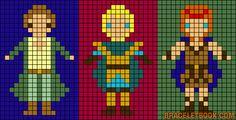 héros-cartoon-bd - point de croix - cross stitch - Blog : http://broderiemimie44.canalblog.com/