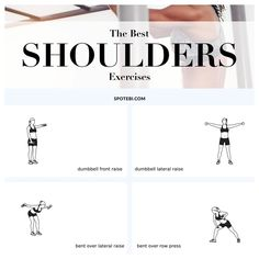 Top 10 Shoulder #Exercises For Women: Get a sexy, shapely & toned upper body! https://www.spotebi.com/fitness-tips/best-shoulders-exercises-sexy-shapely-toned/ @spotebi #workout #getfit