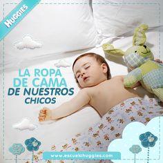 ¿Cómo elegir mejor la ropa de cama para nuestros hijos? Encuentra la respuesta http://escuelahuggies.com/Bebelogia/Comprando-blanco.aspx