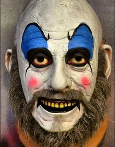 New Capt. Spaulding mask coming from Trick or Treat Studios. Halloween 2019, Halloween Masks, Halloween Face Makeup, Trick Or Treat Studios, Ceramic Mask, Creepers, First Love, Horror, Costumes