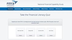 financial literacy test.  prepare to be disappointed.