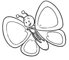 Resultado de imagen para dibujos para colorear de mariposas