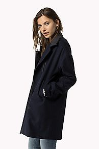 The Wool Biker Coat is the seasons highlight: from the latest Tommy Hilfiger coats