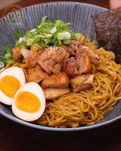 Chicken Ramen Recipe, Chicken Recipes, Fast Dinner Recipes, Supper Recipes, Lunch Recipes, Cooking Recipes, Korean Food, Chinese Food, Cuisine