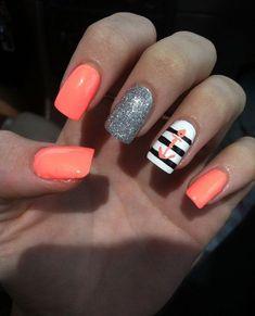 anchor nail art - 60 Cute Anchor Nail Designs ~ ❤ ~ #cutenaildesigns