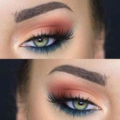 Pretty Eye Makeup Looks for Green Eyes Have green eyes and unsure of what eyeshadow will make them pop? Here are 31 gorgeous eye makeup looks!Have green eyes and unsure of what eyeshadow will make them pop? Here are 31 gorgeous eye makeup looks! Pretty Eye Makeup, Makeup Looks For Green Eyes, Eye Makeup Tips, Gorgeous Makeup, Beauty Makeup, Hair Makeup, Fun Makeup, Makeup Ideas, Green Makeup