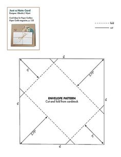 Free Paper Patterns #envelope