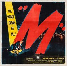 M (1951) Movie Poster