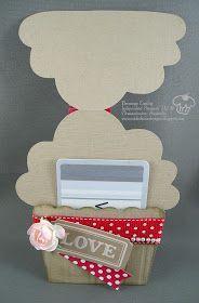 Cupcake gift card holder                                                       …