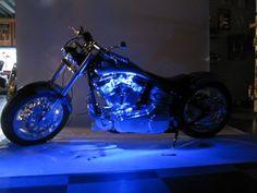 Blue LED Neon Motorcycle Lighting Kit | bikeraa.com  http://bikeraa.com/blue-led-neon-motorcycle-lighting-kit/