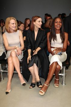 Calvin Klein Collection Spring 2014 Ready-to-Wear Collection Slideshow on Style.com Nicole Kidman, Rooney Mara, and Naomie Harris