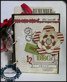 TERESA COLLINS: Countdown.... December Binder Album