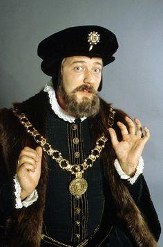 He portrayed Lord Melchett in 1986's Blackadder II TV series. (BBC)