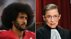 """Justice Ruth Bader Ginsburg said on Friday she was """"inappropriately dismissive and harsh"""" in a recent interview when she said she thought it was """"really dumb"""" for San Francisco 49ers quarterback Colin Kaepernick and others to refuse to stand for the national anthem."""