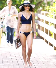 Bethenny Frankel vacationed in Miami on Feb. 7 and 8, and she put her slim, rock-hard body on display in two tiny bikinis; see the photos here