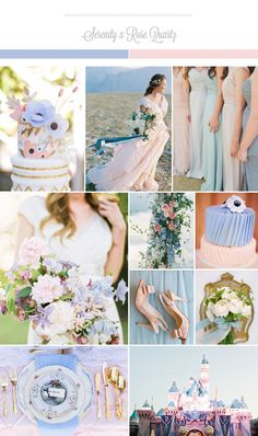 Pantone 2016 – Two is Better Than One: Rose Quartz   Serenity Wedding Ideas!