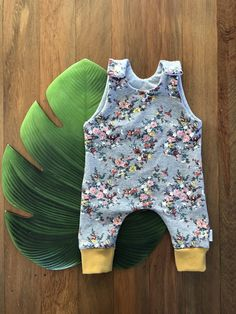Vintage Floral Romper Floral Romper, Easy Wear, Vintage Floral, French Terry, Cute Kids, Rompers, Knitting, How To Wear, Clothes