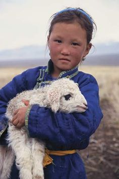 Mongolian girl More: https://www.pinterest.com/brimstonedreams/mongolian-blue-sky/
