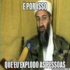 Bin Laden told children 'live in peace in the West' Memes Humor, Funny Memes, Funny Photos, My Photos, Funny Love, Just Kidding, Some Words, Mood, Times Newspaper
