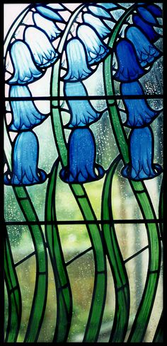 Bluebells - Rachel Mulligan Stained Glass