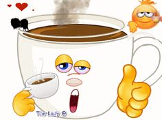 × - [board_name] - Guten Morgen Good Morning Coffee Gif, Good Morning Love, Good Morning Greetings, Good Morning Wishes, Emoji Images, Emoji Pictures, Gif Pictures, Funny Emoji Faces, Funny Emoticons