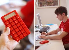 red calculator - The help you need in Math when you're not allowed to use your #HTCOneRed