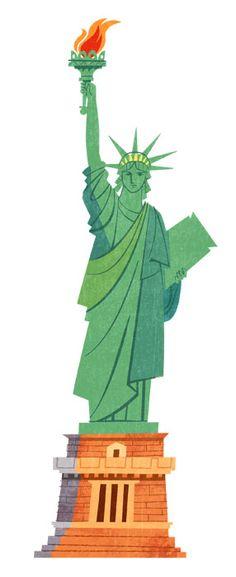 Jamey Christoph #illustration #newyork #statueofliberty