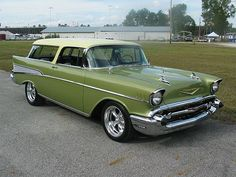 1957 Chevrolet Nomad This is the car that dreams are made of