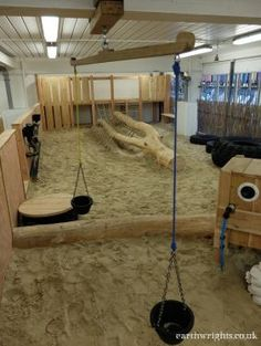 The large indoor play area at Freshling Nursery