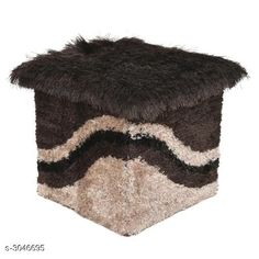 Checkout this latest Idols & figurines_500-1000 Product Name: *Attractive Shaggy Cotton Knitted Puff Sitting Stool* Material: Shaggy Cotton Knitted Size : (L X B ) 13 in  x 13 in Description: It Has 1 Piece of Shaggy Puff Sitting Stool Country of Origin: India Easy Returns Available In Case Of Any Issue   Catalog Rating: ★4.1 (2252)  Catalog Name: Dream Home Attractive Shaggy Puff Sitting Stools Vol 1 CatalogID_416712 C127-SC1621 Code: 044-3046695-4221