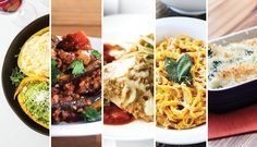 Pasta is not the enemy! Check out our What To Eat This Week series for five pasta dishes to get you through the week guilt-free. You're not dreaming, I promise. #HealthyEating #Pasta | Be Well Philly