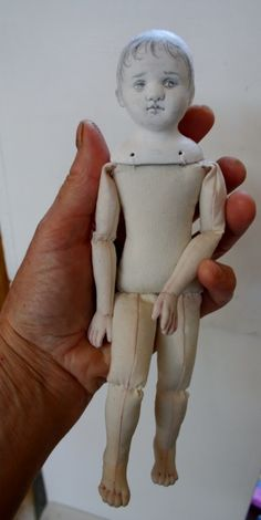 Cloth and Clay Dolls - for art doll makers and those interested in giving it a try