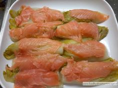 Witlof met zalm in room, tophit Fun Cooking, Healthy Cooking, Cooking Recipes, Healthy Recipes, Fish Recipes, Vegetable Recipes, Happy Foods, Oven Dishes, Healthy Pumpkin