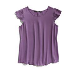 Stitch Fix Fall Stylist Picks: Purple Knit Top