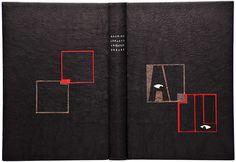 """Biennale Mondiale de Reliure - """"L'aiguille creuse"""", de Maurice Leblanc (Arsène Lupin). Reliure de Christine NERRIERE / Prix Parfums Guerlain 2013"""