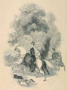 Hints To Lady Equestrians in Godey's Lady's Book, 1862