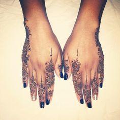 Beautiful & Intricate Mehndi Inspired Tattoos