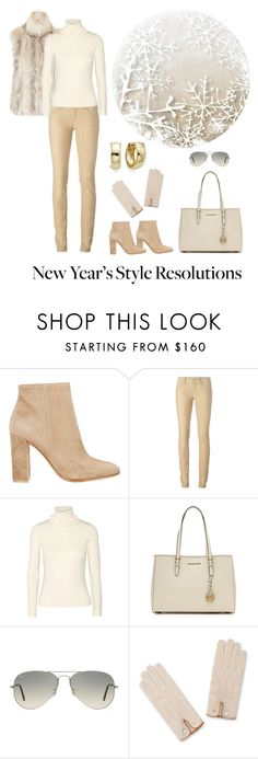 """""""New Year's Style Resolutions"""" by dezaval ❤ liked on Polyvore featuring Topshop, Gianvito Rossi, Étoile Isabel Marant, Vanessa Seward, MICHAEL Michael Kors and Ray-Ban"""