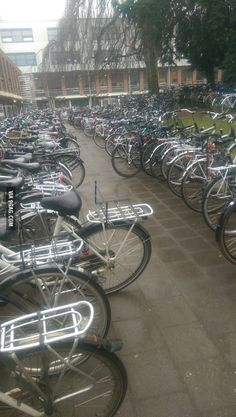A typical school in the Netherlands...