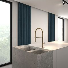 Kitchen render by AD office interieurarchitect
